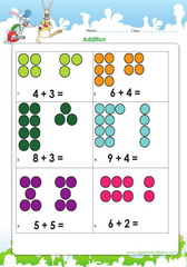Adding numbers up to ten