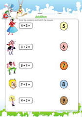 Addition and finding matching answers