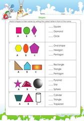 Learn basic shape names