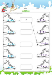 Adding and matching shoe pairs